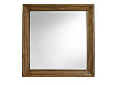Maple Road Cultured Pearl Landscape Mirror,Vaughan-Bassett
