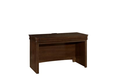 Image for French Market Deep Oak Laptop/Tablet Desk - 2 Drawer