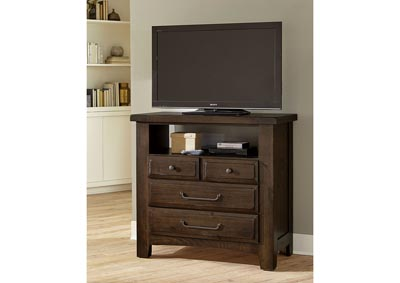 Image for 690 - Sawmill Sedona Media Chest - 4 Drawer