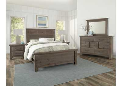 Sawmill Saddle Grey  Dresser - 7 Drawer,Vaughan-Bassett
