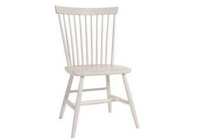 Image for Bungalow Lattice White  Desk Chair
