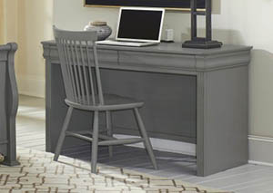 Image for French Market Zinc Desk Chair