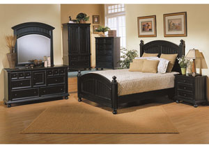 "Image for Cape Cod - Ebony 40"" Armoire"